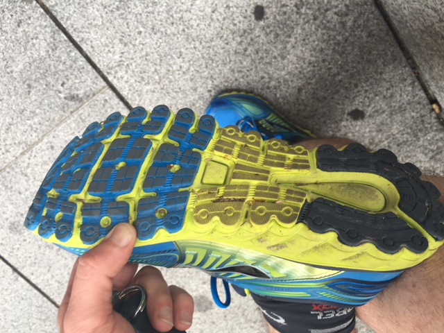 Test Brooks Glycerin en 40 min...